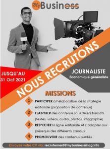 - WhatsApp Image 2021 10 04 at 11 - OFFRE D'EMPLOI : Journaliste économique généraliste